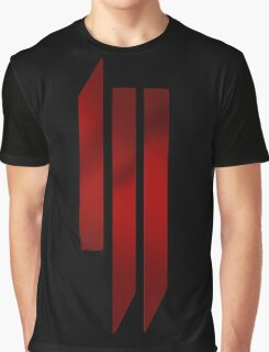 Skrillex - ill - Red Graphic T-Shirt