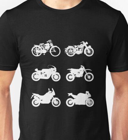 History of Honda Motorcycles Unisex T-Shirt