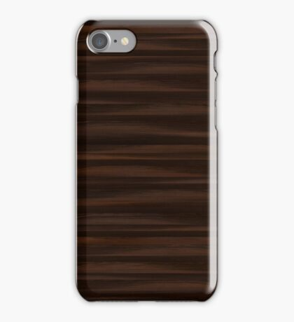 Wood - oak bog iPhone Case/Skin