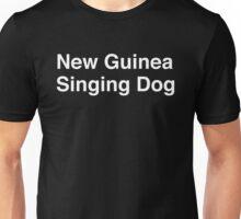 New Guinea Singing Dog Unisex T-Shirt