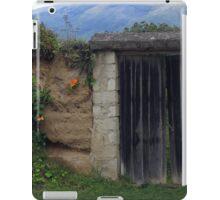 Wood Gate and Wildflowers iPad Case/Skin
