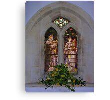 Warblington Window Canvas Print