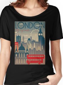 London view Women's Relaxed Fit T-Shirt