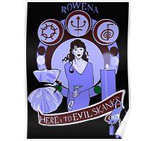 Rowena Crest - Supernatural Poster
