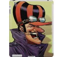 Dick Dastardly Laugh iPad Case/Skin