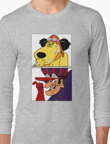 Dastardly & Muttley In Their Flying Machines Cool Stuff Long Sleeve T-Shirt