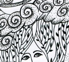 sea girl Sticker