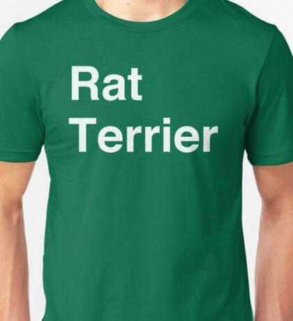 Rat Terrier Unisex T-Shirt