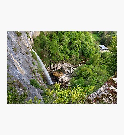 Cerveyrieu waterfall Photographic Print