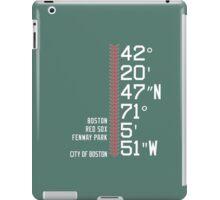 Boston Coordinate Print iPad Case/Skin