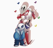 Sans and Papyrus Kids Tee