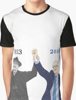 Franklin D. Roosevelt & Bernie Sanders   1933 2016 Years Graphic T-Shirt