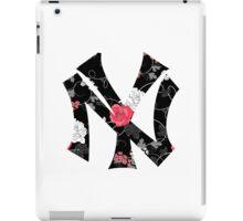 New York Yankees Flower Fanart iPad Case/Skin