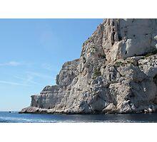 Les Calanques de Marseille, France Photographic Print