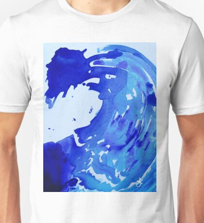 Save The Water Watercolour Unisex T-Shirt