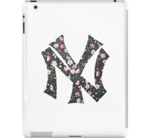 New York Yankees Floral 2 FanArt iPad Case/Skin