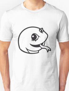 face head sweet little cute baby child snake comic cartoon girl Unisex T-Shirt