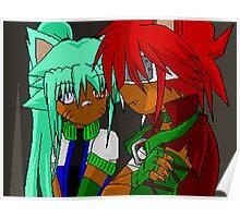 Rei and Shino- Ninjas Poster