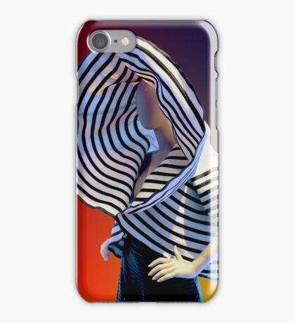 """BETTER TO LOOK MARVELOUS THAN TO BE MARVELOUS"" iPhone Case/Skin"