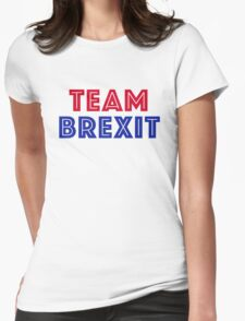 EU vote - Team Brexit Womens Fitted T-Shirt