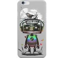 Lonely robot iPhone Case/Skin