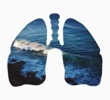 Ocean in my lungs Kids Tee