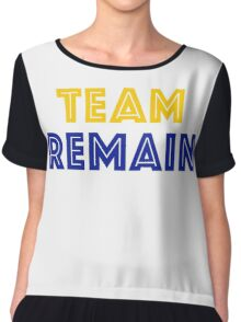 EU Vote - Team Remain Chiffon Top