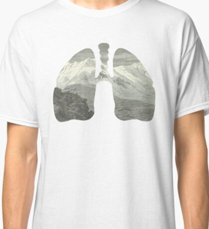 Mountains in my lungs Classic T-Shirt