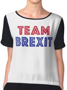 EU vote - Team Brexit Chiffon Top