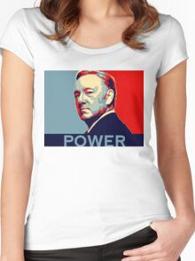 Frank Underwood Women's Fitted Scoop T-Shirt