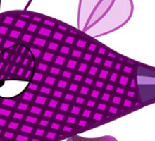 Psychadelic Bumble Bee Sticker