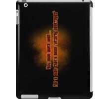 Destroyed iPad Case/Skin