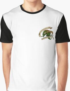 Courage - Barracuda Motivational Graphic T-Shirt