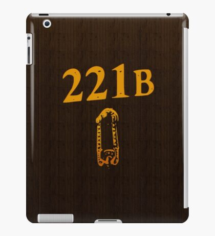 221B Baker St iPad Case/Skin