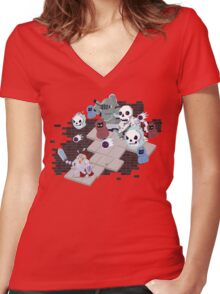 Rogue's Nightmare Women's Fitted V-Neck T-Shirt