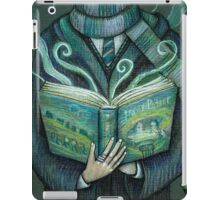 Books magic green iPad Case/Skin