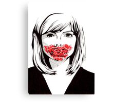 Gore Girl Canvas Print