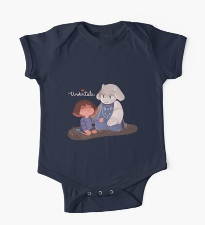 Toriel and Frisk One Piece - Short Sleeve