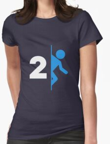 2 Womens Fitted T-Shirt
