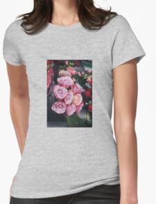 Bed of Roses Womens Fitted T-Shirt