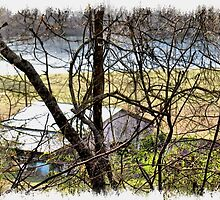 """A Sneak Peek of the Old Farm and the Tale Behind It""... prints and products by © Bob Hall"