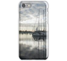Downy Soft Clouds at the Marina iPhone Case/Skin