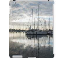Downy Soft Clouds at the Marina iPad Case/Skin