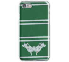 the green scarf iPhone Case/Skin