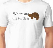 Where are the turtles? Unisex T-Shirt