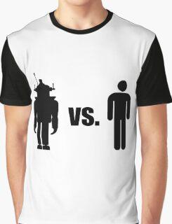 Robot VS Human Graphic T-Shirt
