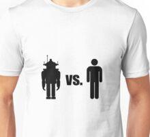 Robot VS Human Unisex T-Shirt