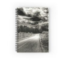 travelling the dark and dangerous path Spiral Notebook