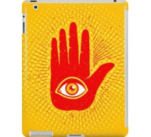 Hand and eye iPad Case/Skin