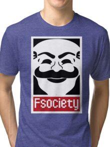 F Society Tri-blend T-Shirt